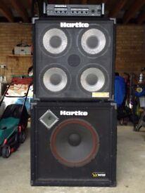 HARTKE BASS AMP 350 WATTS