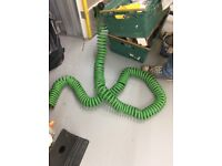 2 x Curley hoses