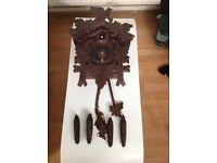 Antique kuku clock