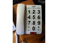 Large Button Telephones