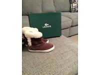 Lacoste baby/kids boots, size 5. Never been worn