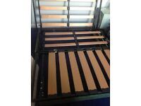 Fold-up double bed