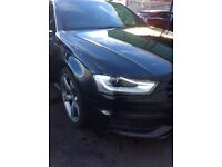 Audi A4 2.0 TDI Sline Black Edition fully loaded 2013 S-line Automatic