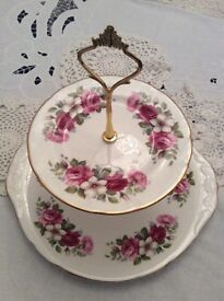 2 Tier Cake Stand.
