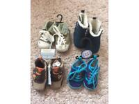 Never worn baby boy shoes bundle, 3-6 months