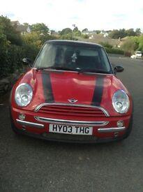 Mini Cooper petrol 2003