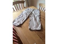 Ladies size 8 3/4 length cargo trousers/long shorts collect from Sprowston or meet at Riverside