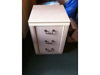 Bedside Tables - 3 drawer x 2
