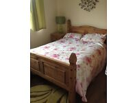 Mexican pine bedroom suite - used
