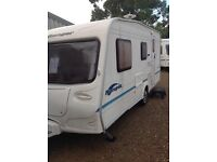 Bailey ranger 470/4 2004 4 berth with full awing