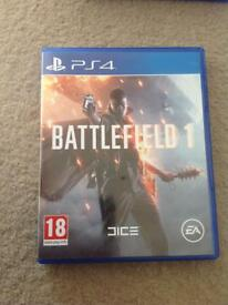 PS4 game - Battlefield 1