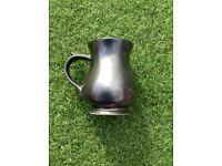 A Vintage Grey Coloured Prinknash Abbey Tankard/Mug