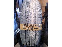 195-60-15 Altenzo 88V 5mm Part Worn Tyre