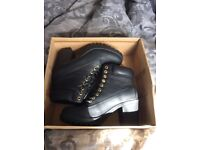 Ladies military boots