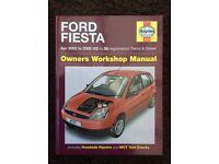Ford Fiesta Haynes Owners Workshop Manual 2002 to 2008