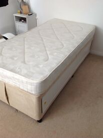 Single Divan with or without mattress