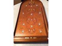 The original Corinthian bagatelle master board