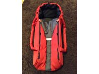 Phil&Teds Cocoon, Red Baby Carrier