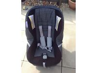 Britax (First Class) car seat.