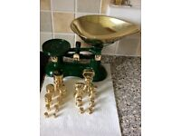 Kitchen Scales + Imperial + Metric Weights