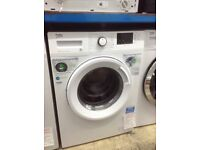 Beko white 8kg 1400spin washing machine. A+++ energy rated. New/graded 12 month Gtee