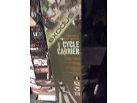 Exodus 2 cycle rack fits most cars