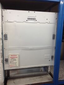 Beko intergrated dishwasher. £199. New/graded 12 month Gtee