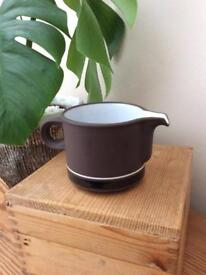 Vintage 1970's Hornsea Contrast cream jug