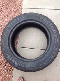 Continental tyre 235/55R17