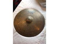 "Paiste Masters Dark Dry Ride Cymbal 20"""