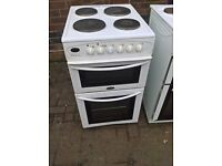 white electric cooker 50cm.. delivery Same day.