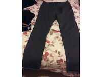 Hardly worn, 'Burtons' mid/dark grey men's jeans. Very good condition. Size 34x34""