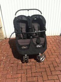 Double Mini City Baby Jogger Pram