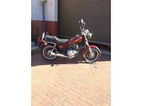 Yamaha Motorbike 125SR