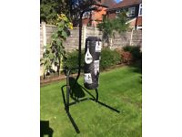 Decathlon punch bag and stand for sale. Very good condition as barely used.