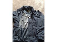 Helly hanson jacket ,navy, medium size