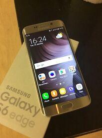 Samsung Galaxy s6 edge 32gb unlocked boxed