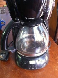 Black Coffee Maker Machine Cafetiere Jug