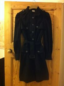 Lovely New Black Military Coat in Great Condition Women's Teenage Clothing XS 8