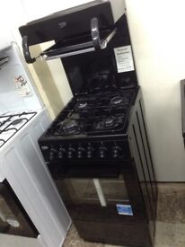 Beko high level grill gas cooker £270 New/graded 12 month Gtee