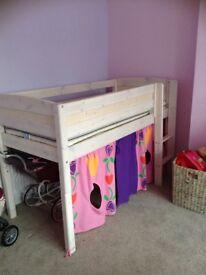 Children's mid sleeper bed