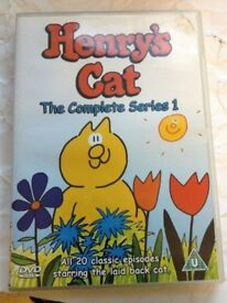 HENRY'S CAT - The Complete Series 1-5 dvd set