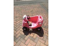 """TINY TIKES PINK COSY COUPE """"CONVERTIBLE"""""""