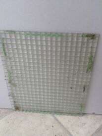 Old glass panes