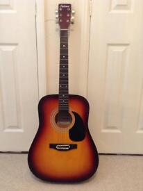Acoustic guitar falcon collection only recent strings fitted £15
