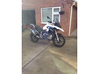 BMW r1200gs lc TE 2013 with luggage