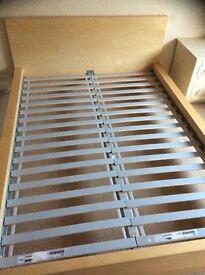 Malm ikea bed frame double,