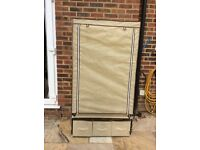 Fabric Wardrobe Excellent Condition hanging rail & 3 drawers