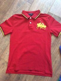 Boys Red Ralph Lauren Polo Top.