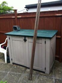 2 x Vintage Wooden Stretcher Poles for sale - nice bargain - £ 20 ovno